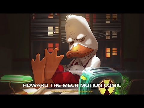 Howard the Mech Motion Comic | Marvel Contest of Champions