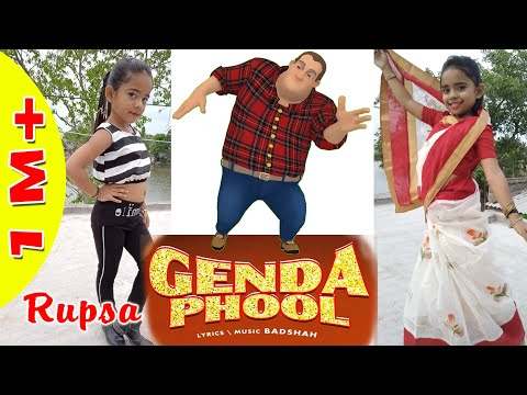 Genda Phool | Rupsa Dance with Badshah Cartoon Animation| Badshah l Jacqueline Fernandez | Payel dev