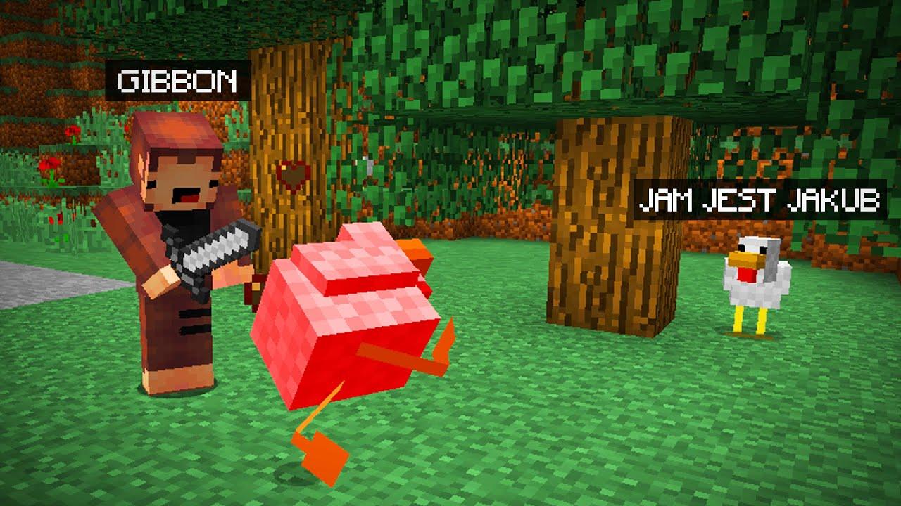 Minecraft, ale CHOWAMY się jako ZWIERZĘTA (Morph Mod)