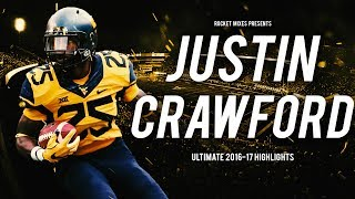 WVU RB Justin Crawford - Ultimate 2016-17 Highlights