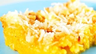 How To Make Corn Meal Lemon Bars