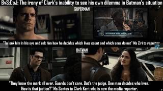 "Batman v Superman: ""The Ask"" & Clouded Judgement by Superman & Batman"