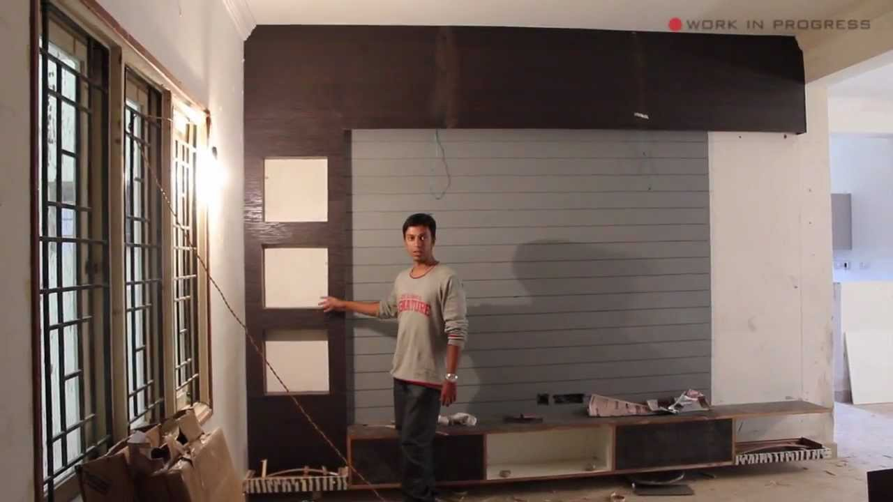 Apartment Interior Designing - North Bangalore - Mr Rajasekhar [update 3] -  YouTube