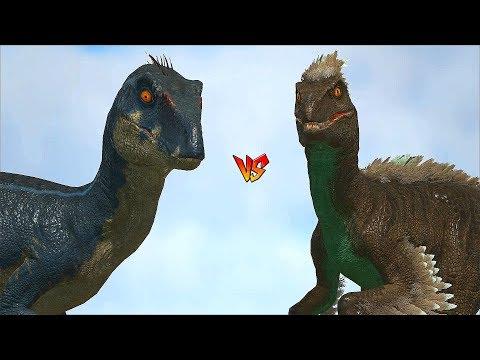 Ark Survival - VELOCIRAPTOR vs RAPTOR/CARNO/ALLO/THERI and more [Ep.306]