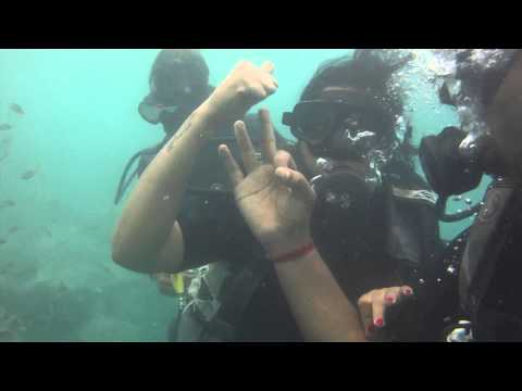 scuba Diving @Andaman by barefoot