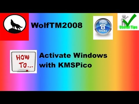 Activate Windows with KMSPico - YouTube