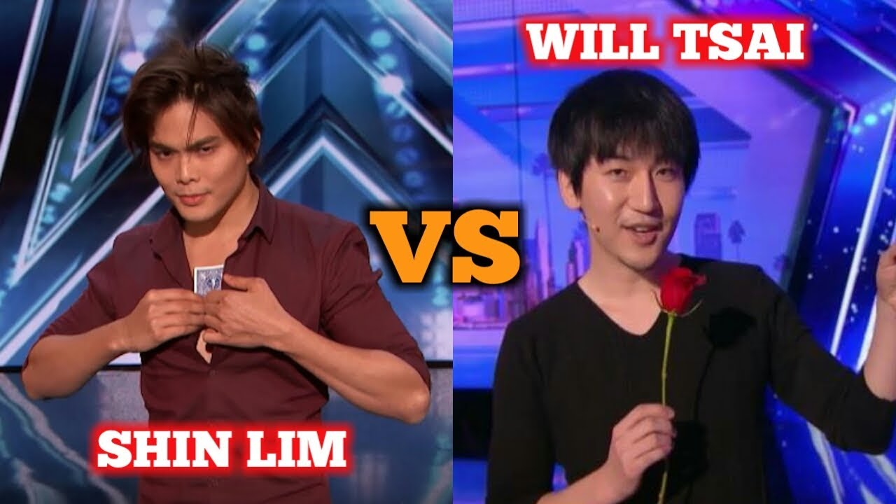 Download Shin Lim VERSUS Will Tsai - America's Got Talent Best Magician Of All Time