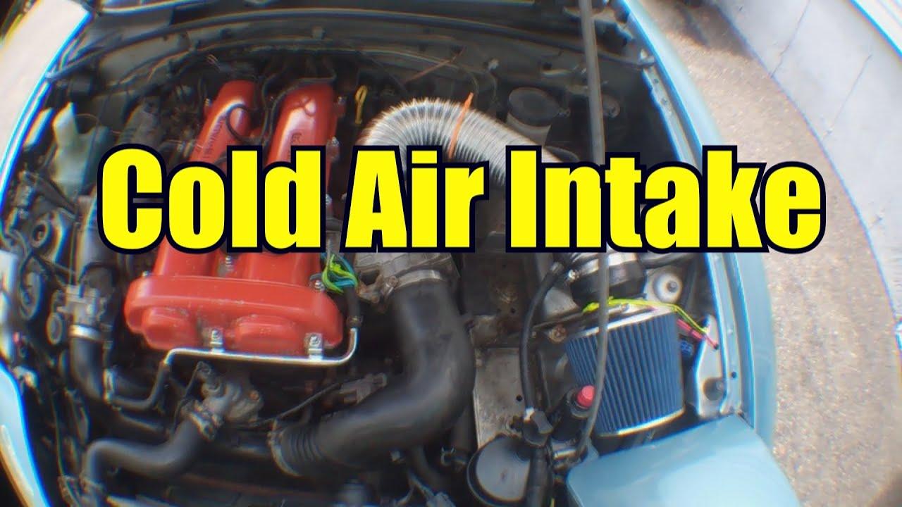 Mazda Miata Cold Air Intake Haggard Garage Youtube
