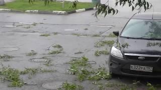Ураган в Москве 29.05.2017. Полный армагеддец!