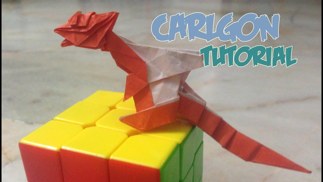 intermediate origami dragon diagram xentec hid kit wiring carlgon tutorial how to