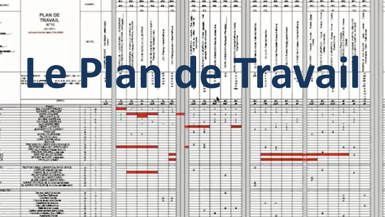 Plan de travail youtube for Plan de travail pin