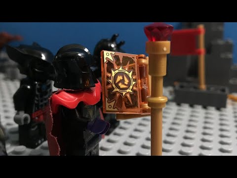 """Rise Of A Phoenix Warrior: Ep.9: """"Ancient War Zone""""   LEGO Stop-Motion 25FPS"""