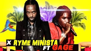Rhyme Minista Ft. Gage - Bounce - July 2014