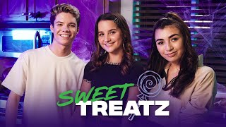SWEET TREATS  How to Make Halloween Treats ft. Annie, Kelsey, + Connor