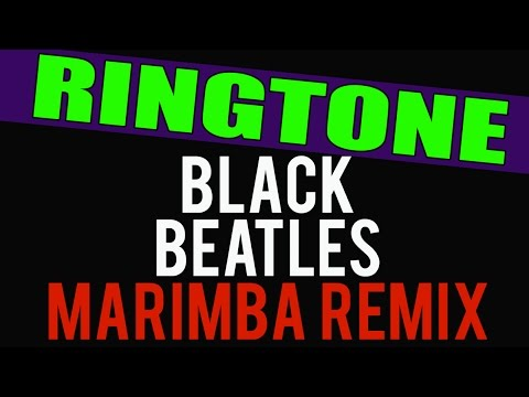 Rae Sremmurd Black Beatles Marimba Remix Ringtone