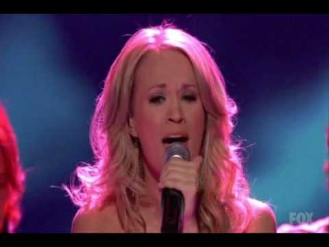 Carrie Underwood - I'll Stand by You (American Idol Finale)