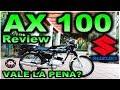 SUZUKI AX 100 | Review en Español con Blitz Rider HD