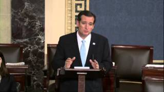 Ted Cruz talk-a-thon highlights