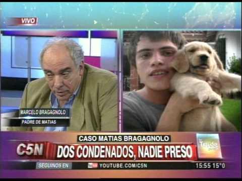C5N - POLICIALES: CASO MATIAS BRAGAGNOLO