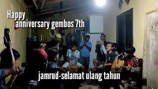 Happy anniversary gembos 7th | jamrud-selamat ulang tahun