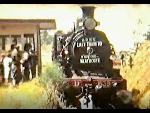 Last Train to Heathcote Vic November 1968