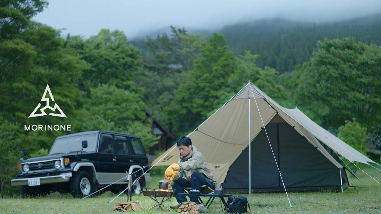 【ソロキャンプ】早朝ハイキングとキャンプ場の穏やかな時間