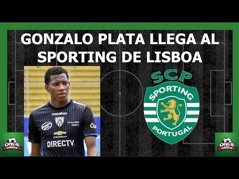 Gonzalo Plata llega al Sporting de Lisboa ⚽ Ecuatorianos en el exterior
