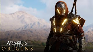 Assassin's Creed Origins - How To Unlock Secret Legendary Outfit (Isu Armor Outfit) FULL TUTORIAL