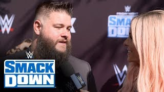 """Kevin Owens Previews His Ladder Match On The """"blue Carpet"""": Smackdown Exclusive,"""