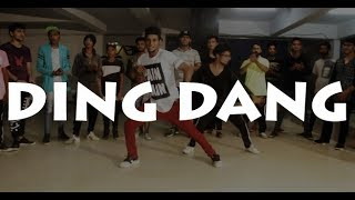Ding Dang Song |Tiger Shroff | Munna Michael 2017 Dance choreography @Ajeesh krishna