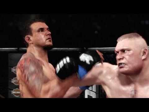 Brock Lesnar vs. Frank Mir III at Madison Square Garden ...
