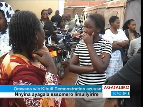 Omwana w'e Kibuli Demonstration azuuse