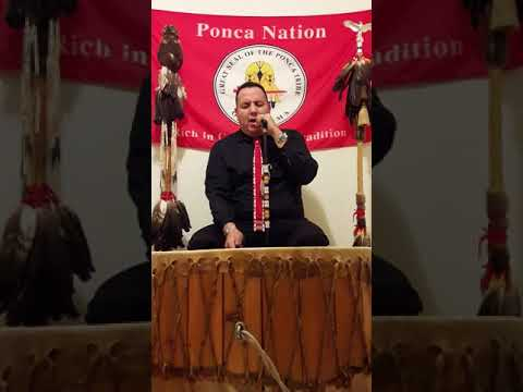 PONCA TRIBAL FLAG SONG