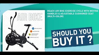 Reach Air Bike Exercise Home Gym Cycle Преузми