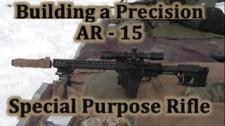 Building a Precision AR 15 SPR #4 First Shots - Wow it