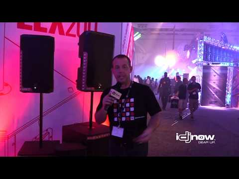 Electro Voice ELX200 Portable Loudspeaker Series At DJ EXPO 2017