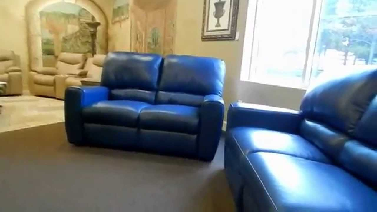 San Francisco 41120 Leather Sofa Recliner