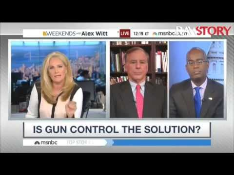 Alex Witt rips Ron Christie for saying no gun control talk while people 'mourn'