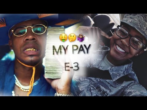 HOW MUCH I GET PAID AS AN E-3| MILITARY PAY | CUT & DRY| TECH SCHOOL SERIES