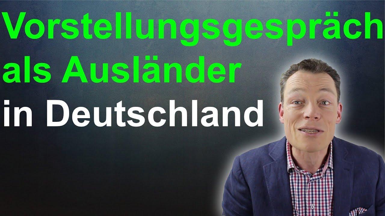 Vorstellungsgespräch als Ausländer: Erfolg in Deutschland (Bewerbung ...