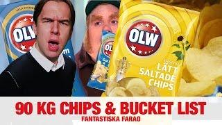 [FARAO] 90 kg chips och bucket list - NRJ SWEDEN