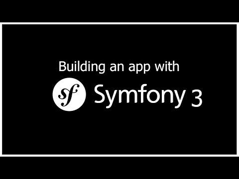 Symfony 3 видеоуроки