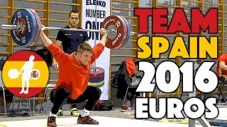 Team Spain - Snatch, C&J, and Squat Session