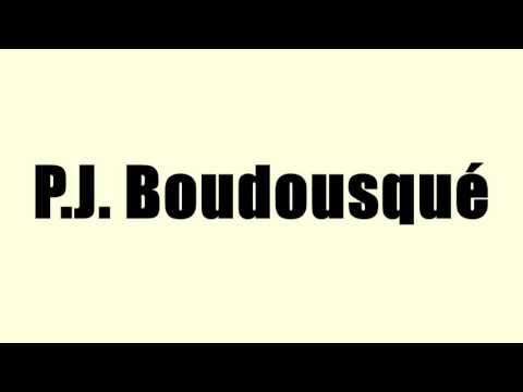 P.J. Boudousqué