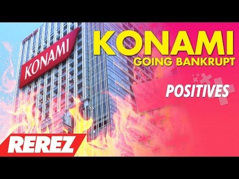 Konami Going Bankrupt (Feat. Game Sack, AlphaOmegaSin, 8-Bit Eric) - Positives - Rerez