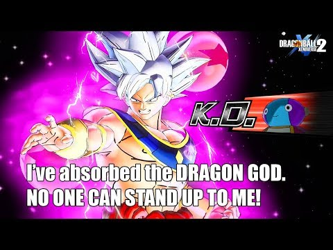 This God Of Destruction Goku HAS The Power Of SUPER SHENRON! OP! In Dragon ball Xenoverse 2 |
