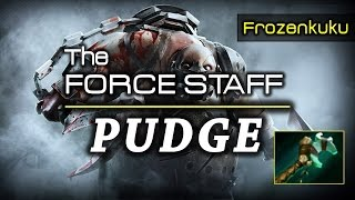 The Force Staff PUDGE!!! | DOTA 2 Reborn (Frozenkuku)