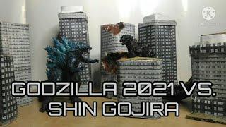 Godzilla 2021 Vs. Shin Gojira