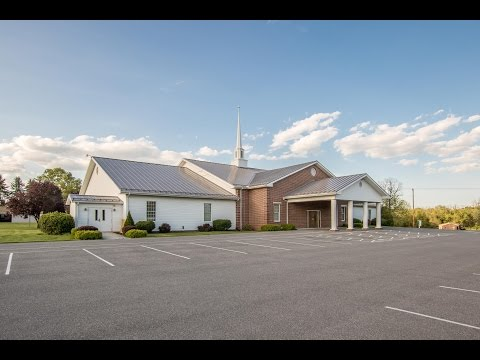Newville Church with Metal Roof - A.B. Martin - 4K