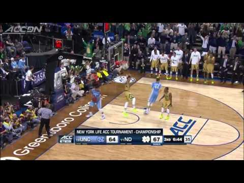 Notre Dame Basketball 2014-2015 - ACC Champions - Elite 8
